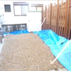 京都府亀岡市 Fさま邸 外構工事中(土間打ち)の画像