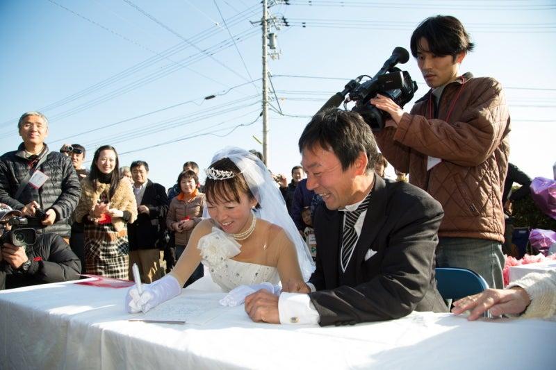 婚姻届署名