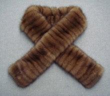 セーブル毛皮 リフォーム マフラー