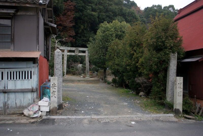 久津尾崎城/登城口
