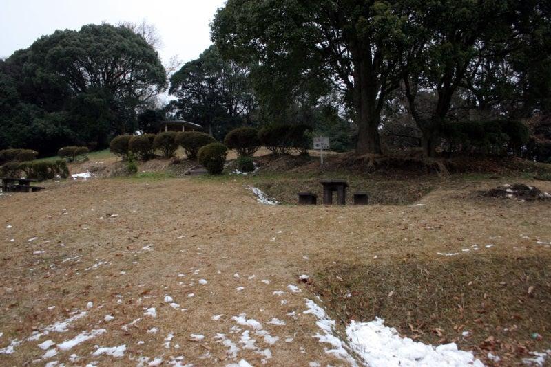 剣岳城/階段を登り切った所
