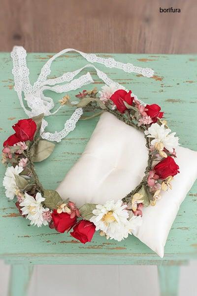 布花 マーガレットの花冠