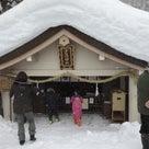 昨日、初めて諏訪大社上社に初詣に行ってきました!の記事より