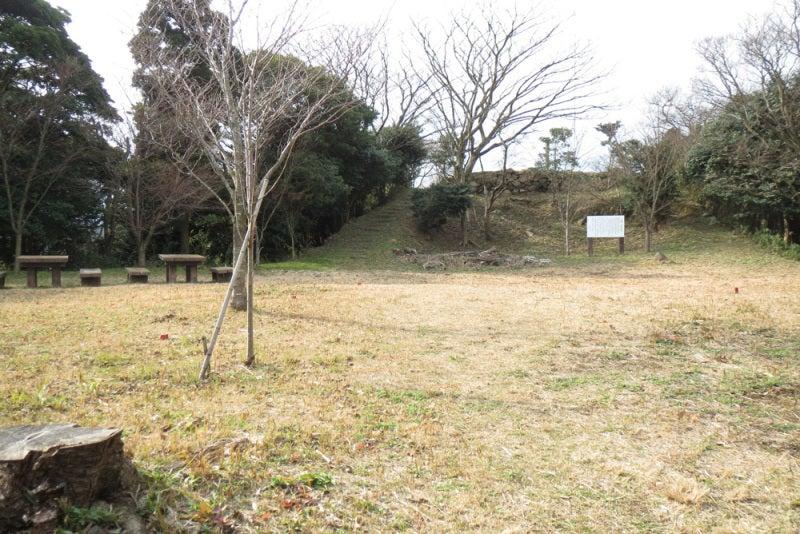 花尾城/⑥本丸の東側