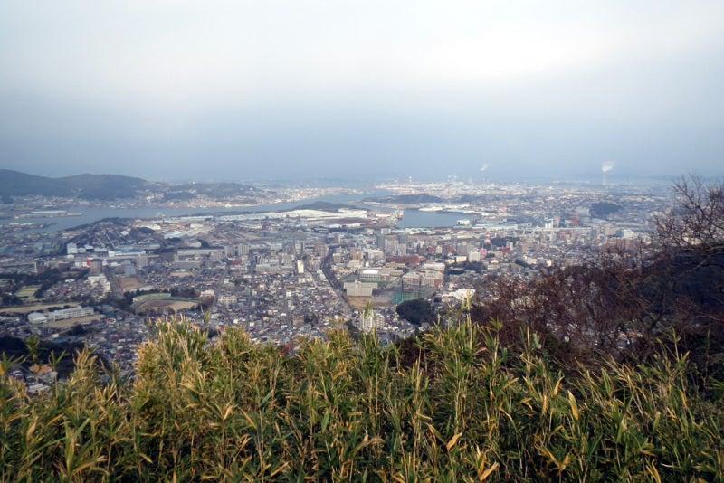 花尾城/⑧本丸から北西側