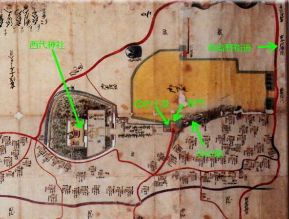 西代藩(本多家)陣屋の想像図を描きました。   みどりの木のブログ