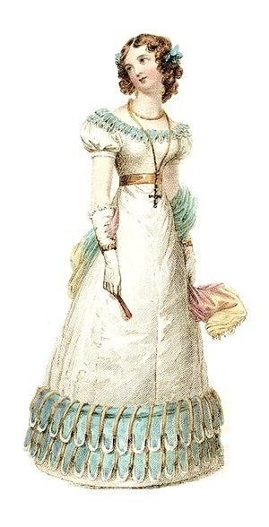 19世紀初頭の西洋のファッションの変遷 | Pikari's Diary