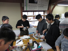 20131226ふくスマわさび漬け作り体験②