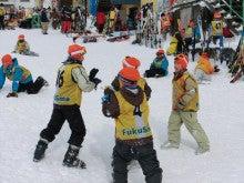 20131228ふくスマ昼休み雪合戦