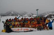 20131228ふくスマ記念写真スキー場