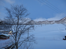 20131229ふくスマ栂池高原の朝
