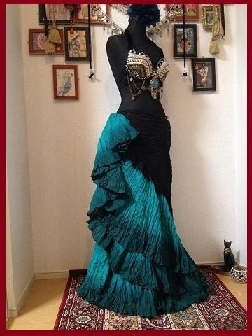 ベリーダンス衣装☆25ヤード スカート コットン ジプシー