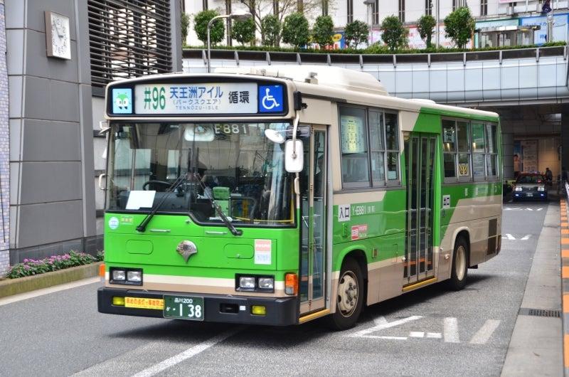 E881 | 都営バス生活 (都電と地...