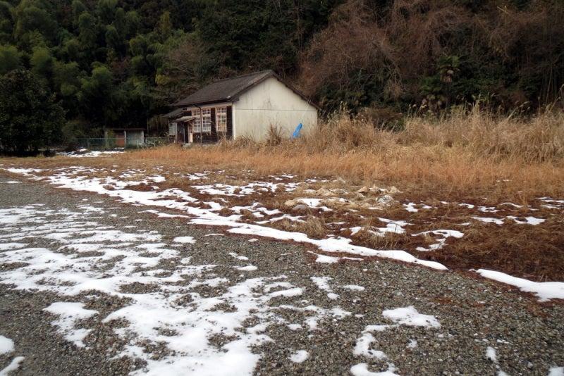 松尾城/①二の丸が駐車場