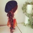 帽子に合うヘアアレン…