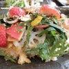 イチゴの載ったチラシ寿司 きゃしー's「新春アンチエイジングランチ♪」の画像
