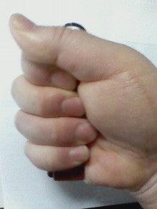小さい小銭入れin Hand