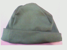 [3rdEarthFireproof]Stretch Kevlar knit cap Green