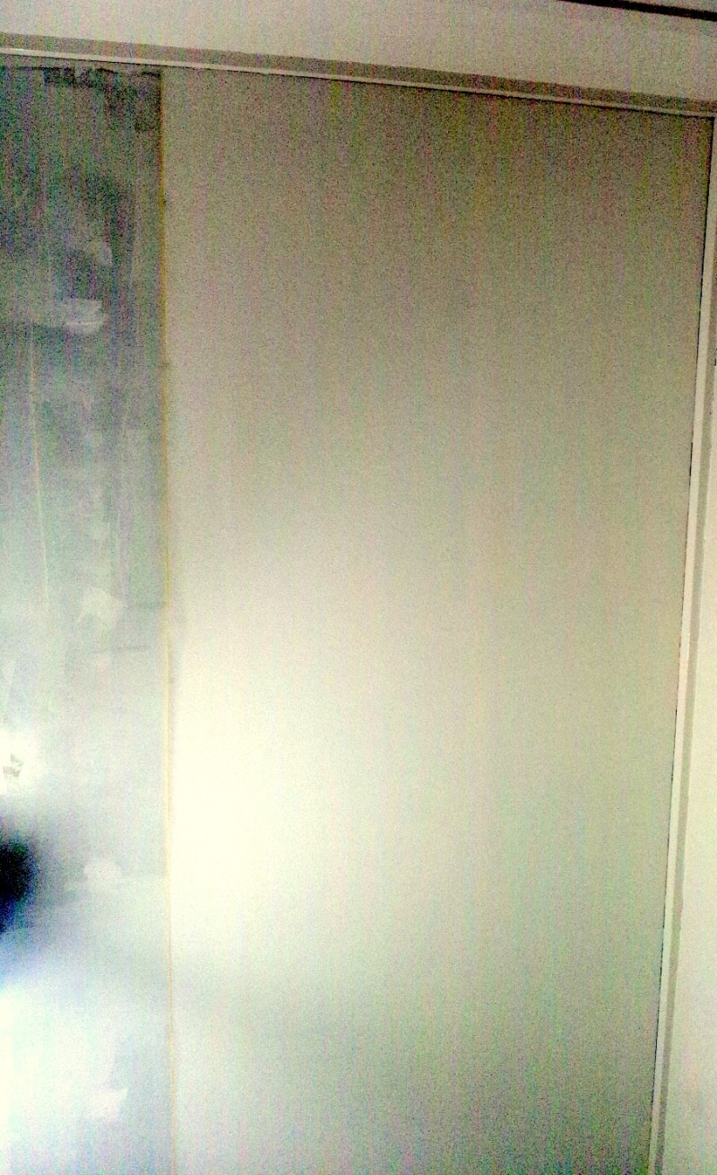 和室の天井に壁紙を貼る その4 ひとつ団地を買ってみた