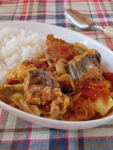 サバ トマト カレー