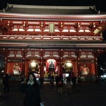 浅草寺に、、!
