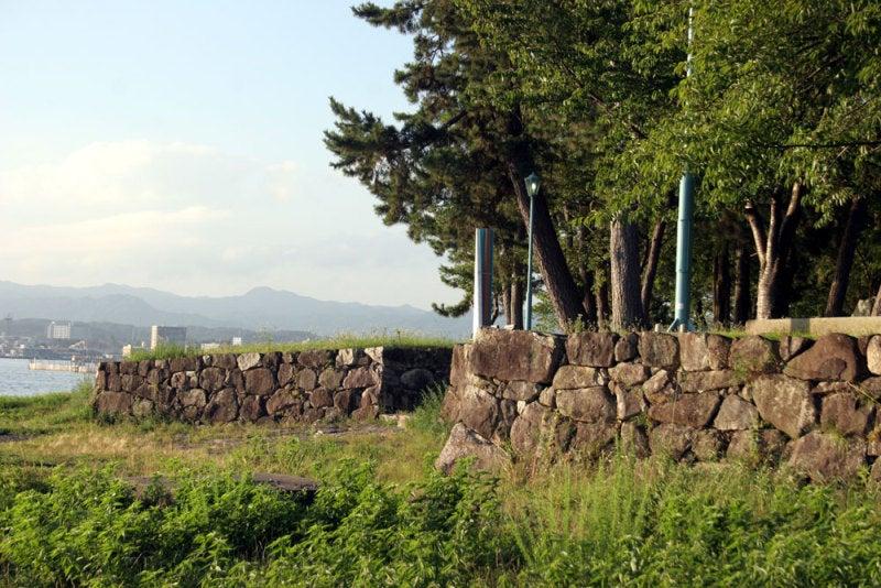 膳所城/④石垣