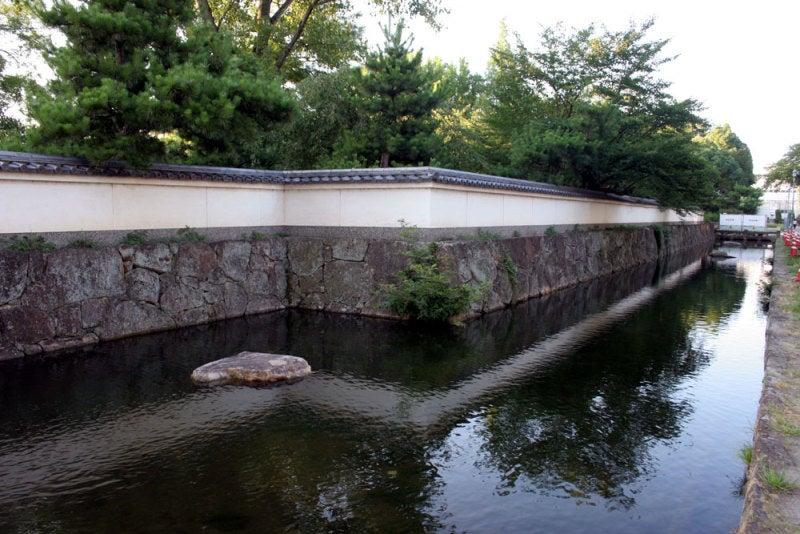 膳所城/①堀
