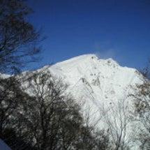 昨年12月の谷川岳