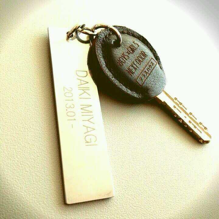 テラスハウス,鍵,革