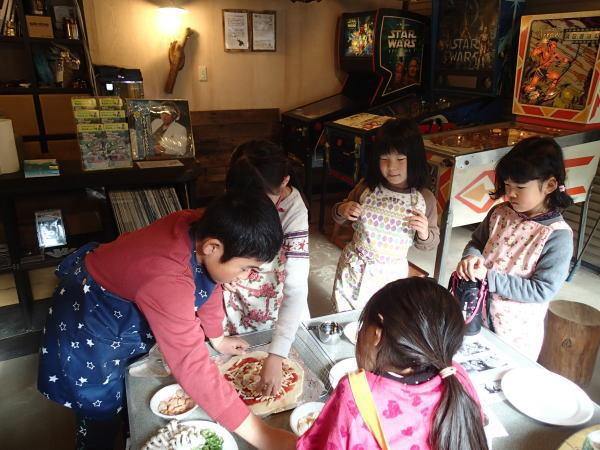 子どもたちのピザ体験04