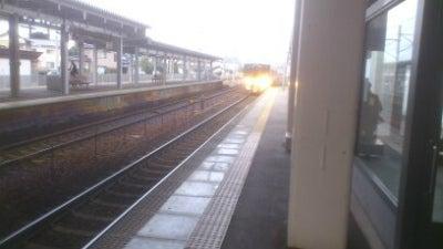 金沢駅から松任駅まで