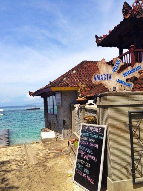 『バリ東部にある穴場の宿&レストラン、AMARTA』