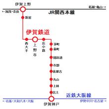 ミニレポ】伊賀鉄道・鍵屋辻駅跡...