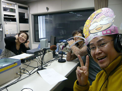 ラジオ番組司会者さんと新潟の魔法の名刺屋