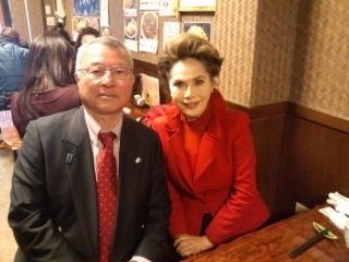 20140205田母神氏とデヴィ夫人
