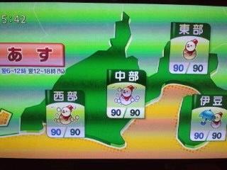 静岡 天気 予報