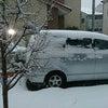 大雪警報の画像
