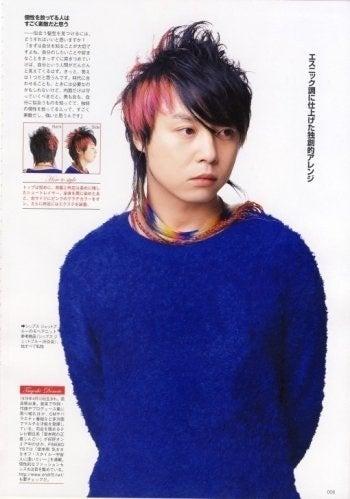 堂本剛(KinKi Kids)の髪型遍歴2003,2014