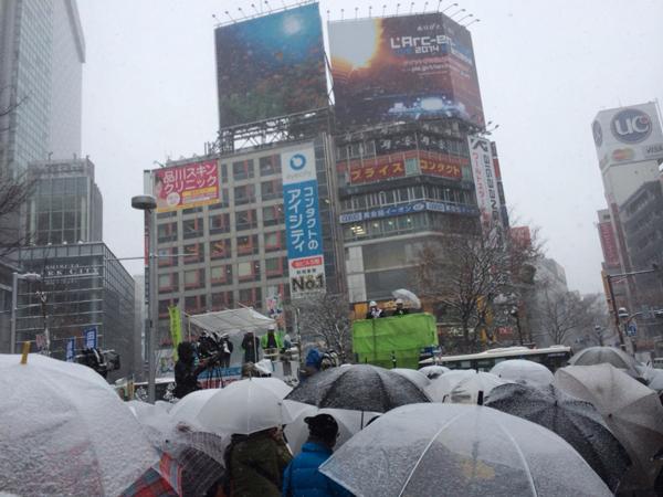 20140208田母神氏選挙最終日