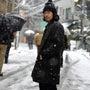 雪の日はハッピーに!…