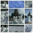 雪ディズニーなう!