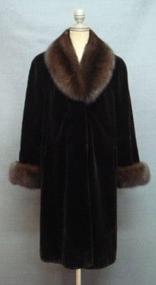 毛皮の替え襟製作 リフォーム