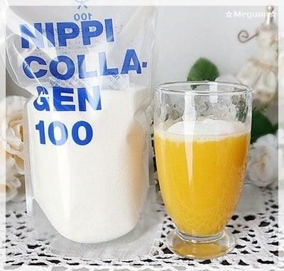 コラーゲン100とOJ