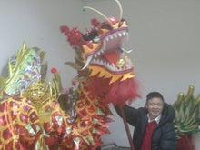 龍と獅子舞
