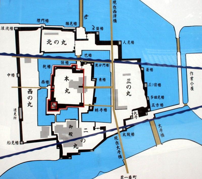 小浜城/07縄張図