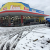雪のダメージの画像