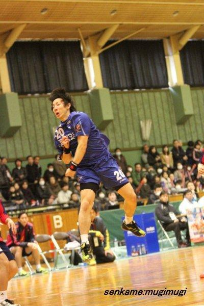mugi 「日々是。感謝。」日本ハンドボールリーグ鳥取県境港大会 トヨタ車体ブレイブキングスphoto2 ×大崎