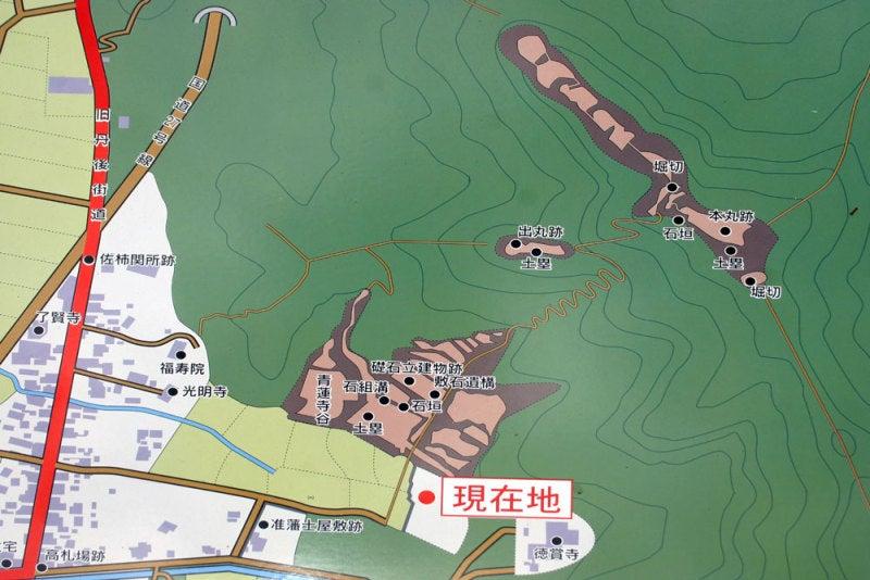 国吉城/04案内図