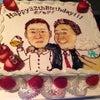 似顔絵バースデーケーキ♡の画像