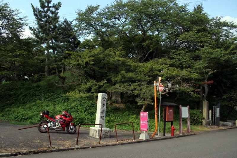小丸城/01城跡前の駐車場